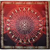 "Tablecloth Runic Divination 16""?16"" (Color: Black, Tamaño: 40x40 sm)"