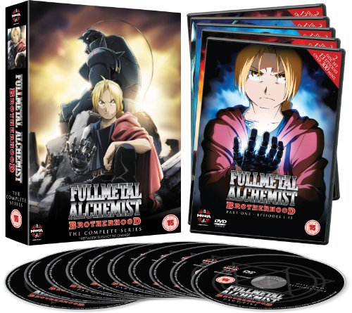 �ݤ�ϣ��ѻ� FULLMETAL ALCHEMIST ����ץ꡼�� DVD-BOX (1-64��, 1525ʬ) ���˥� [DVD] [Import]