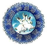 Turkceramics Sufi Plate (25cm, Blue)