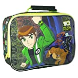 BEN 10 TEN ALIEN FORCE KIDS INSULATED SCHOOL LUNCH BOX SANDWICH COOL BAG - NEW