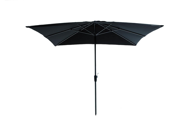 Madison Kurbelschirm Rhodos 280 x 280 quadratisch schwarz mit UV-Schutz 40 Plus günstig bestellen