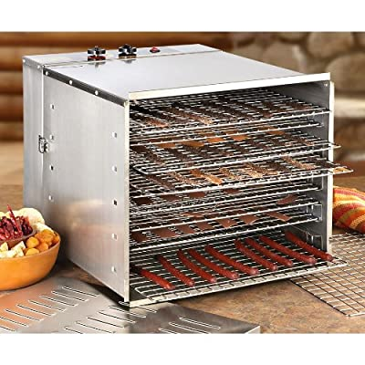 Guide Gear High-capacity Stainless Steel Dehydrator by GUIDE GEAR