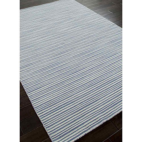 Addison and Banks AMZ_CC0167 Flat Weave Stripe Pattern Wool Handmade Rug, 4 by 6-Inch
