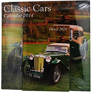 Wall Calendar And Diary Set 2014 (Classic Cars)