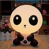 Sealive Cute Cartoon Animals LED Bed Desk&Table Light,KungFu Panda Rabbit Dog Bear Kids Night Light Sleeping Lights,Panda Nursery Night Light Cute Night Lamp