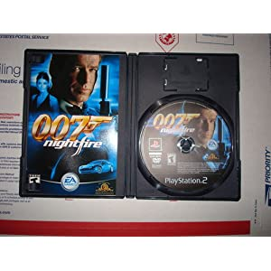 Game, Games, Video Game, Video Games, PlayStation 2, Xbox, PC, James Bond, 007, Nightfire