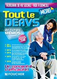 img - for Tout le DEAVS - MCAD en fiches m mos - DE auxiliaire de vie sociale, MC aide   domicile (French Edition) book / textbook / text book