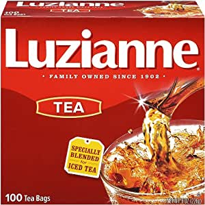 Luzianne Specially Blended for Iced Tea, 100-Count Tea Bags (Pack of 4)