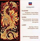 Glazunov: Seasons/Glinka: Ruslan & Ludmilla