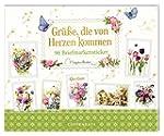Stickerbuch - Gr��e, die von Herzen k...