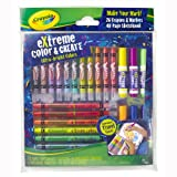 Crayola Extreme Colour and Create (12 Mini Twistables Crayons; 8 Twistables Crayons; 6 Washable Markers; 40 Page Sketchbook)