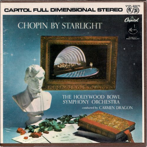 Chopin By Starlight ~ Carmen Dragon, The Hollywood Bowl Symphony Orchestra (Reel to Reel)