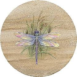 Thirstystone 6 inch Sandstone Trivet Dragonfly