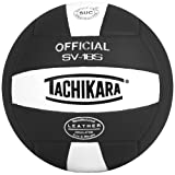 Tachikara Institutional quality Composite VolleyBall, Black-White