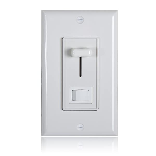 Maxxima 3 way single pole dimmer electrical light switch 600 watt maxxima 3 way single pole dimmer electrical light switch 600 watt max led compatible wall plate included aloadofball Image collections