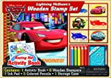 Artistic Studios Disneys Cars Wooden Stamp and Activity Set