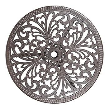 Patio Sense Faustina Antique Bronze 3 Piece Bistro Set