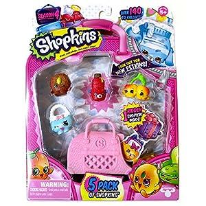 Amazon.com: Shopkins Season 4 Toy Figure (5 Pack): Toys