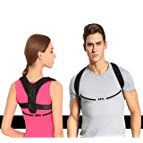 Taisk Back Posture Corrector Spinal Support, Posture Corrector Back and Shoulder Support Brace for Women and Men for Thoracic Kyphosis and Shoulder -