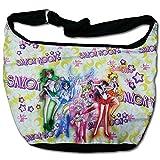 美少女戦士セーラームーン セーラーキャラクターズ グループ&ペガサス ホーボーバッグ 並行輸入品