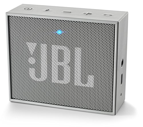 JBL GO Ultra Speaker Bluetooth, Ricaricabile, Portatile con Ingresso Aux-In, Microfono per Chiamate in Vivavoce, Compatibile con Smartphone, Tablet e Dispositivi MP3, Grigio
