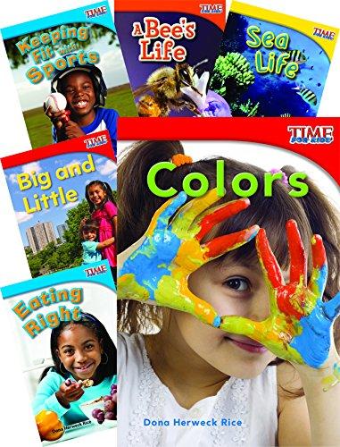 TIME FOR KIDS® Nonfiction Readers STEM Grade 1, 10-Book Set