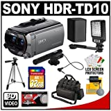 61cbcBLb5sL. SL160  Sony Handycam HDR TD10 3D 1080p HD 64GB Digital Video Camera Camcorder