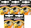 5 x Duracell 2032 CR2032 DL2032 3V Lithium Coin Cell Batteries