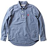 (リトルダーリン)little DARLING シャツ プルオーバー ナチュラル ダンガリーシャツ メンズ アメカジ 1(M) インディゴ