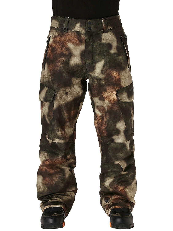 Herren Snowboard Hose Quiksilver Porter Printed Insulated Pants