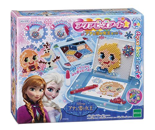 Aquabead art ☆ Ana and the snow Queen set