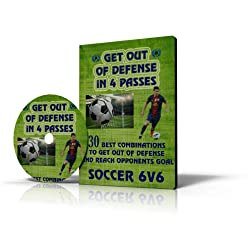 6v6 Soccer: 30 Tactics to Get Out of Defense