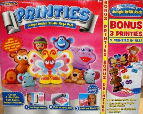 Printies Jungle Design Studio Mega Pack with Bonus Printies