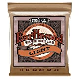 Ernie Ball 2148 Light Earthwood Acoustic Phosphor Bronze String Set ( 11 - 52)