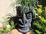 Happy Tiki Planter (Black Granite)
