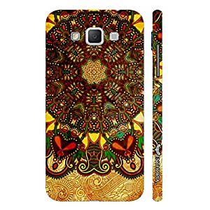 Samsung Galaxy Grand 3 Aztec Earth designer mobile hard shell case by Enthopia