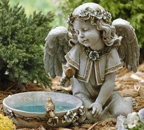 Garden angel statues - Angel statue for garden ...