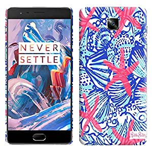 Theskinmantra Star Fish back cover for OnePlus 3/OnePlus Three/1+3