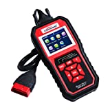 KONNWEI OBD2 Scanner KW850 Auto Car Diagnostic Code Reader, Professional Vehicle OBDII Scan Tool Check Engine Light Code Reader Tool for all OBD II Protocol Cars Since 1996 (Color: Black & Red, Tamaño: KW850)