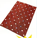 61cdd52RO2L. SL160  Brown, Blue & White Polka Dot Rugs
