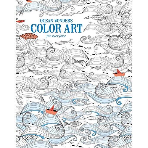 Leisure Arts-Ocean Wonders Color Art