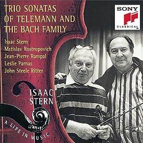 Bach/Telemann: Trio Sonatas