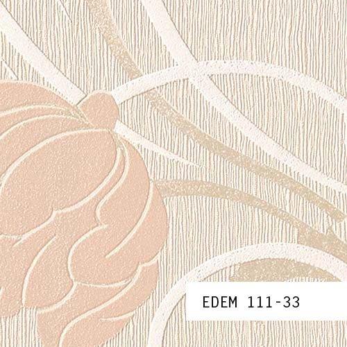 Tapeten MUSTER EDEM 111-Serie | Stilvolle Blumen Floral Tapete , 111-XX:S-111-33