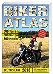 Biker-Atlas Deutschland 2013