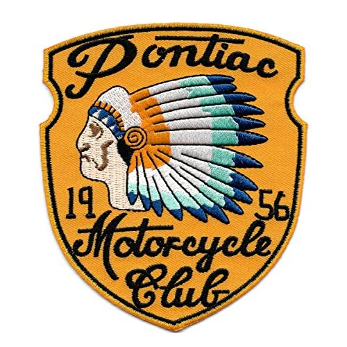 Vintage Style 1956 Motorcycle Club Biker Patch