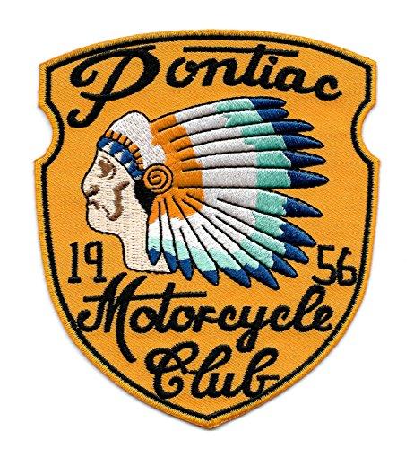 Vintage Style 1956 Motorcycle Club Biker Patch 0