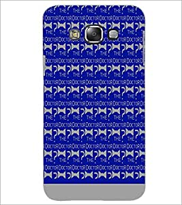 PrintDhaba The Doctor Pattern D-1075 Back Case Cover for SAMSUNG GALAXY A7 (Multi-Coloured)