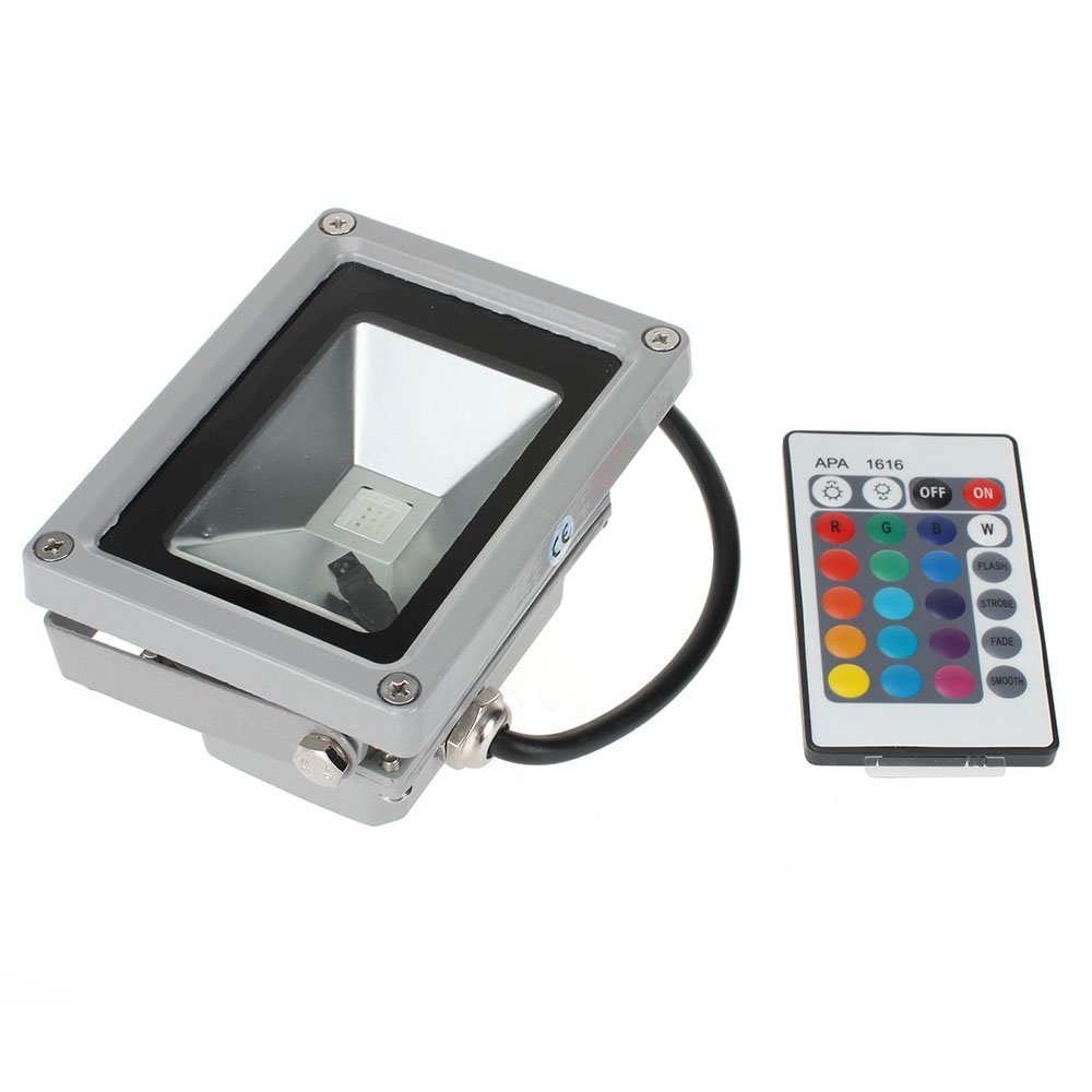 Techcode®50W Color Change LED RGB Spotlight FloodlightCustomer review and more description
