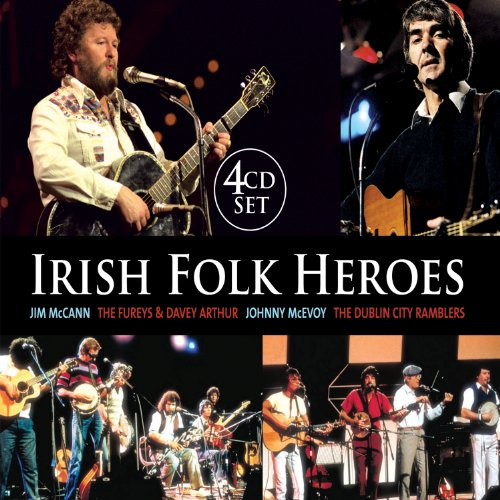 IRISH FOLK HEROES 4CD