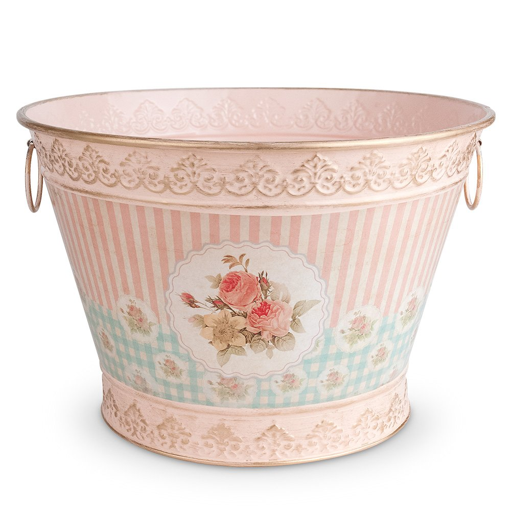 Epic Products Floral Vintage Chic Ice Bucket Large